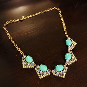 Stella & Dot Turquoise Stone Necklace